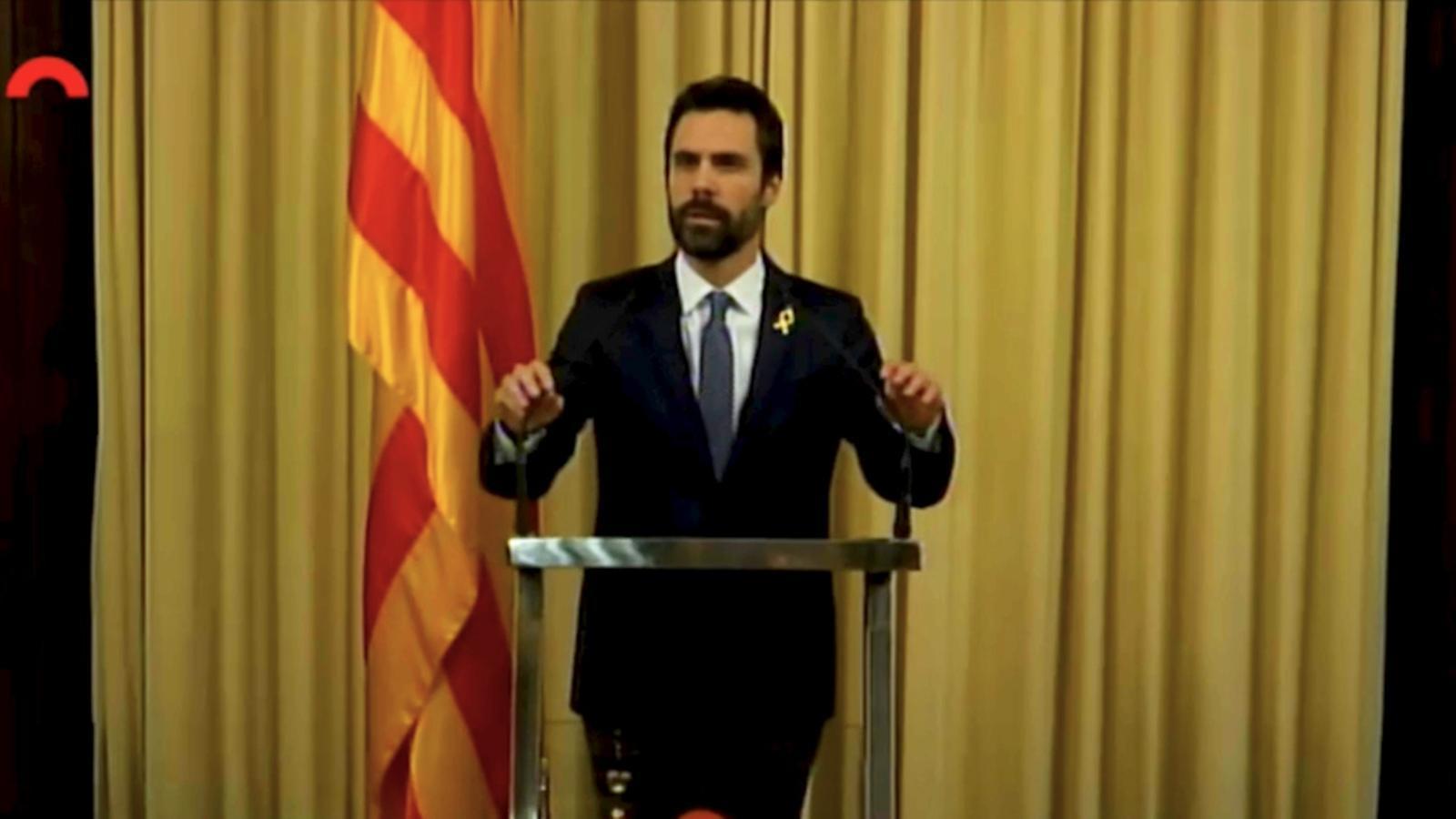 Torrent proposa Puigdemont com a candidat a la investidura