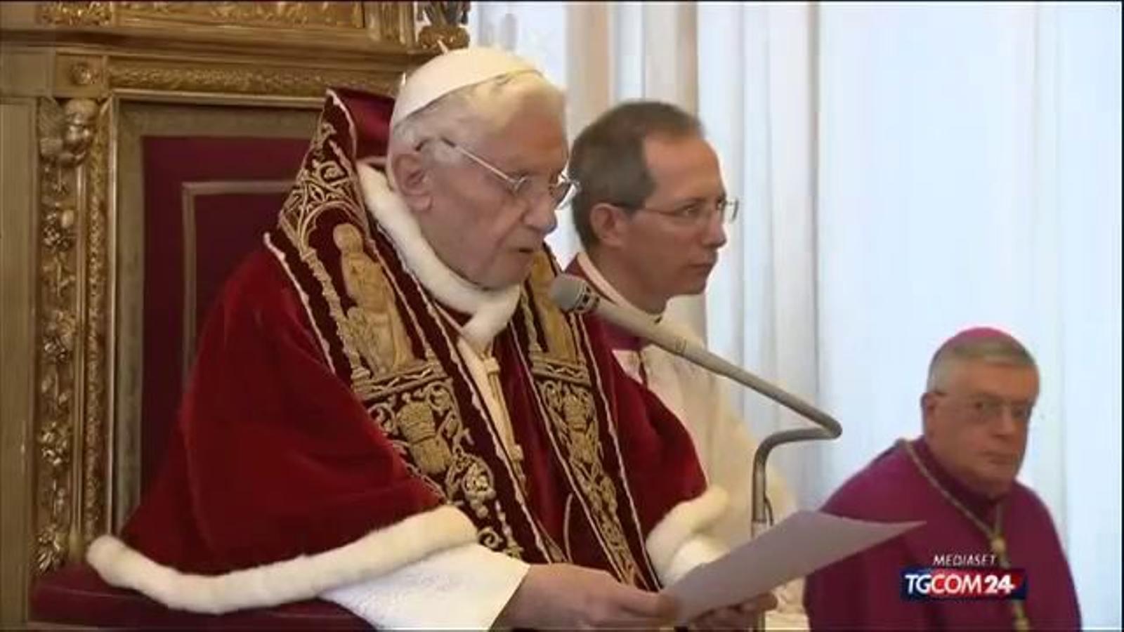 El papa Benet XVI renuncia