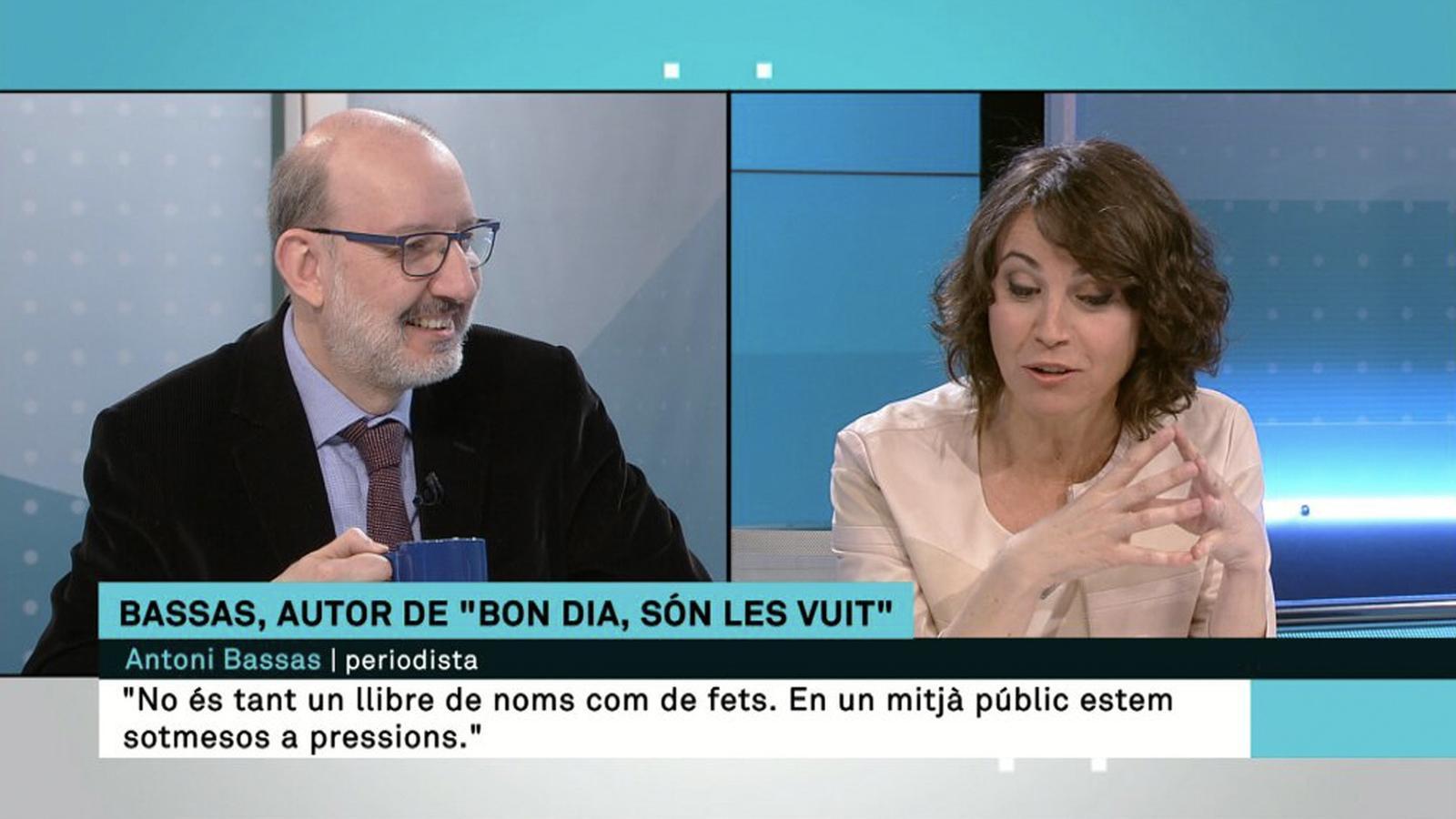 L'anàlisi d'Antoni Bassas: 'La resposta a Lídia Heredia sobre TV3'