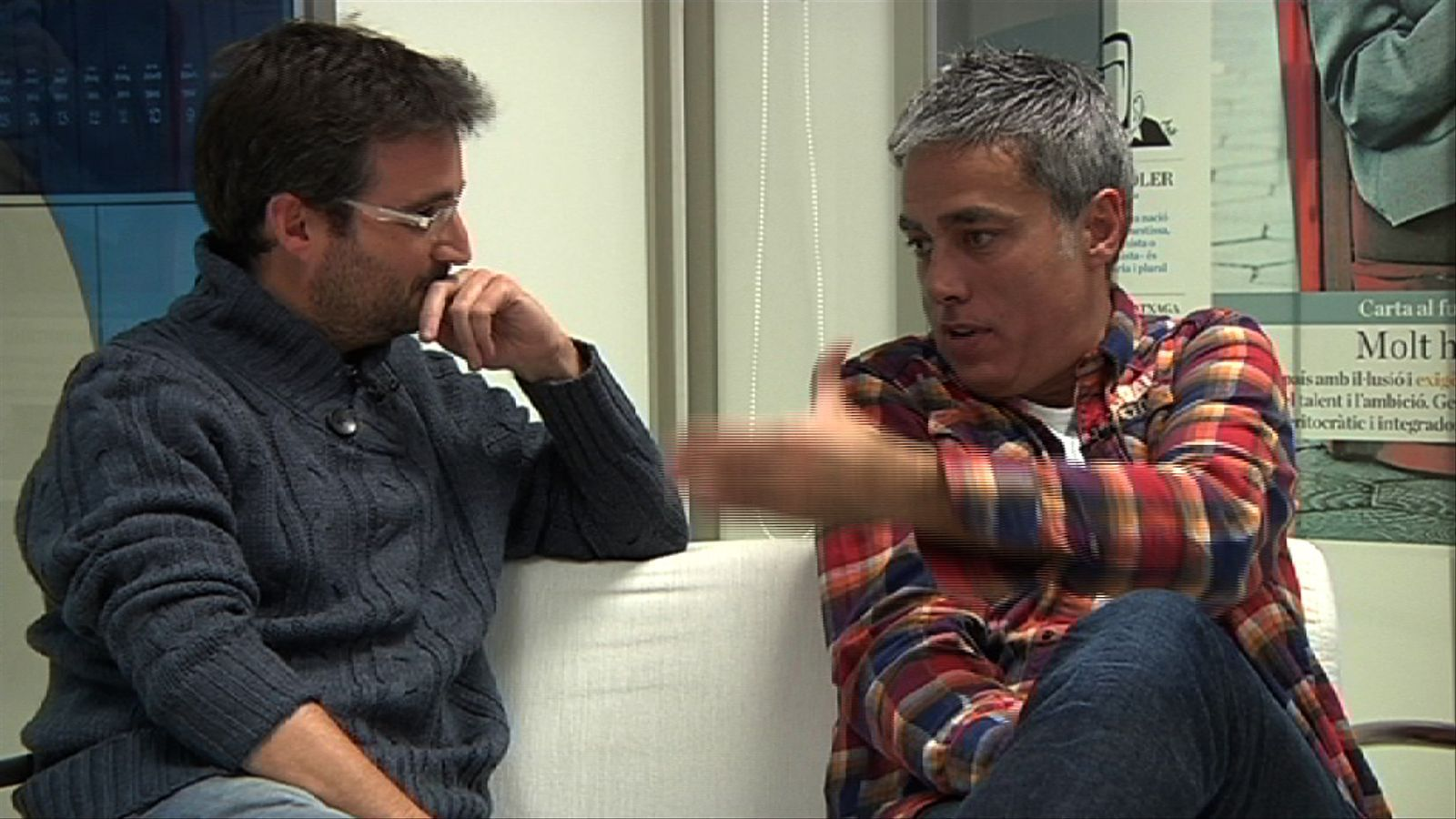 Jordi Évole: No es parla d'ETA donant veu a tothom perquè en aquest país et volen en una trinxera