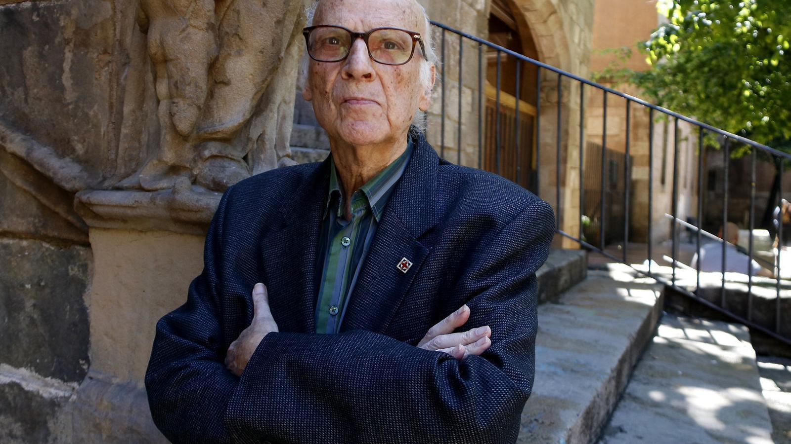 Xavier Benguerel estrena l'obra  'El cementiri marí'