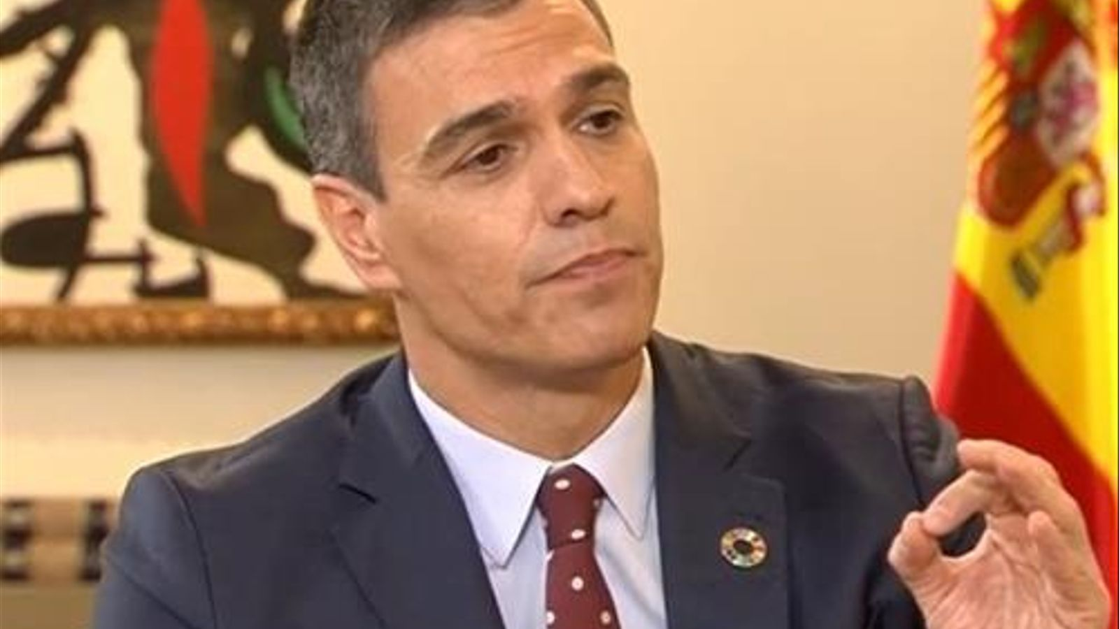 """Pedro Sánchez anuncia una """"inevitable"""" pujada d'impostos"""