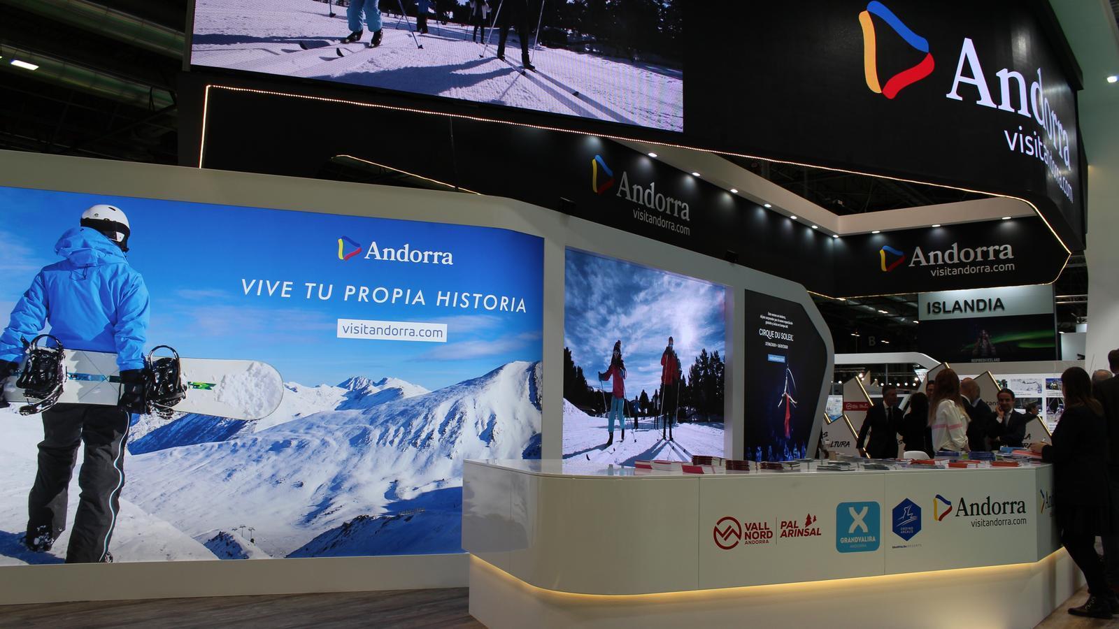 Estand d'Andorra a la fira Fitur. / ANDORRA TURISME