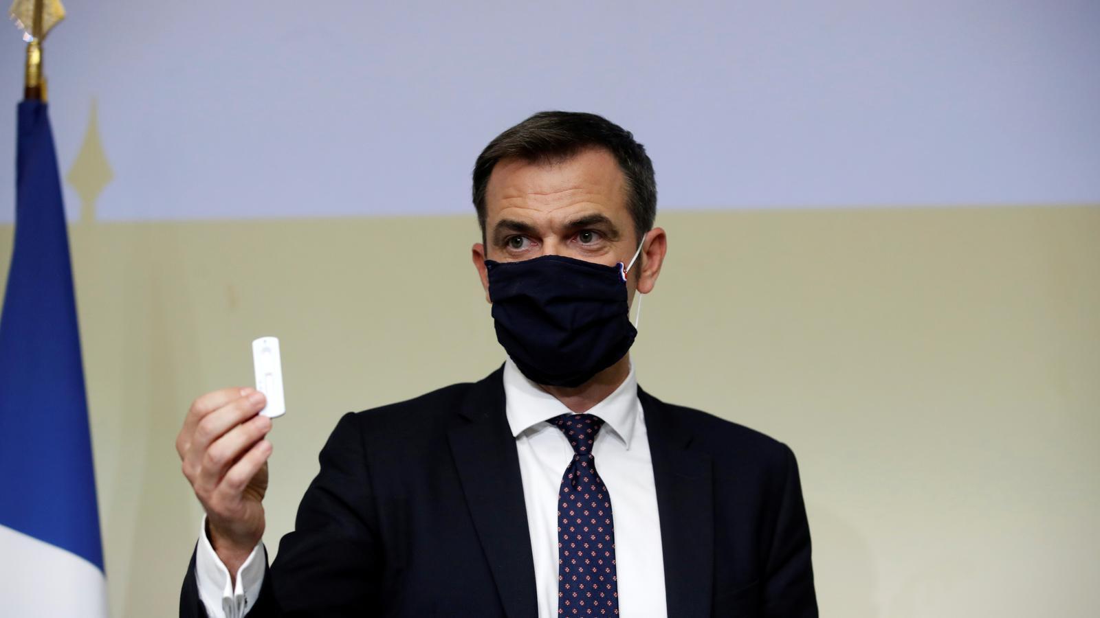 El ministre de Salud francès, Olivier Veran.