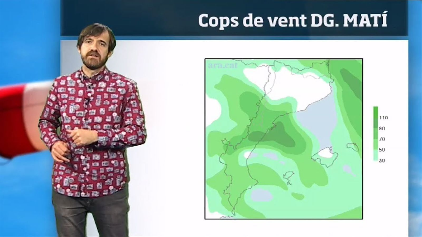 La méteo en 1 minut: cap de setmana amb més vent i algunes nevades al Pirineu