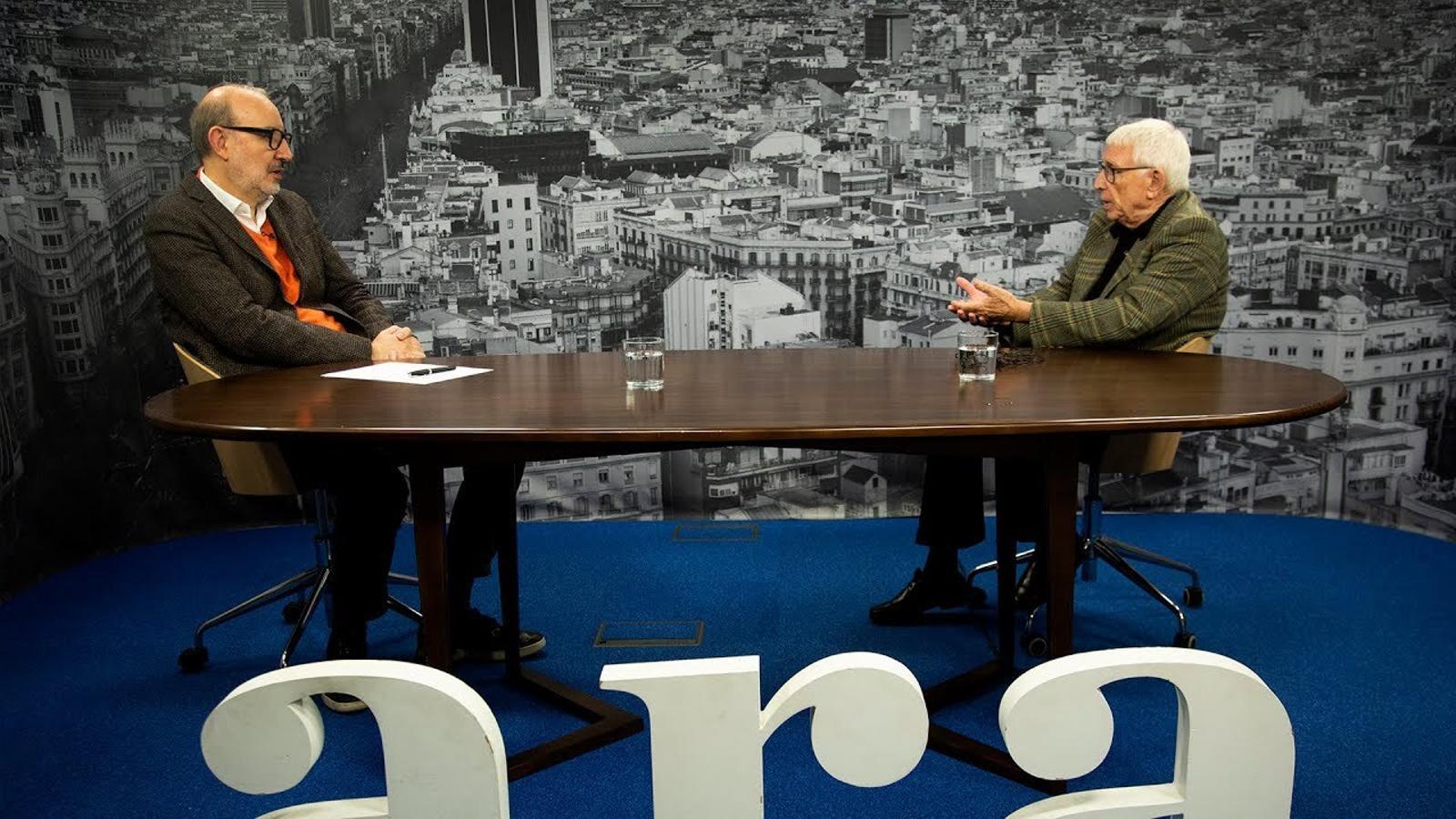 Entrevista d'Antoni Bassas a Raimon