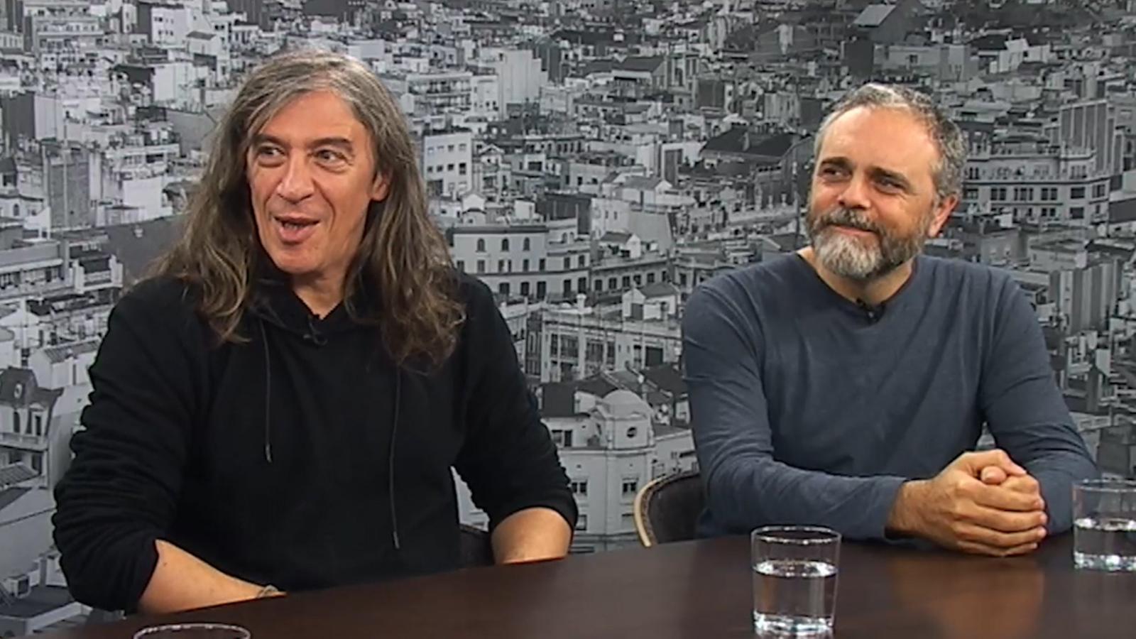 Entrevista d'Antoni Bassas a Sopa de Cabra