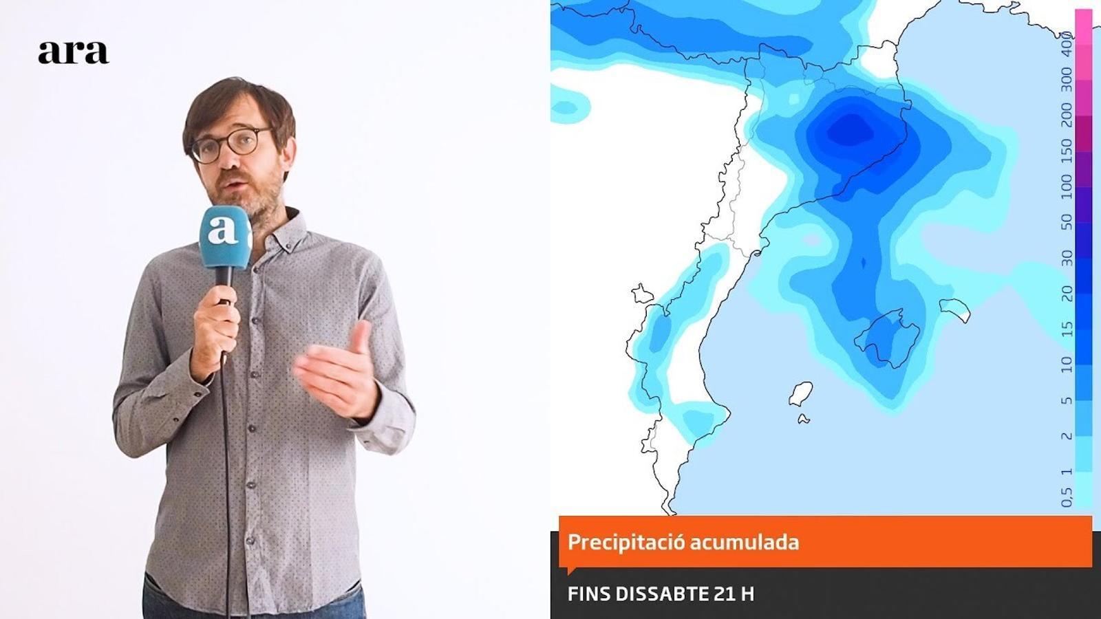La méteo: cap de setmana amb tongada de tempestes i nova entrada d'aire fred