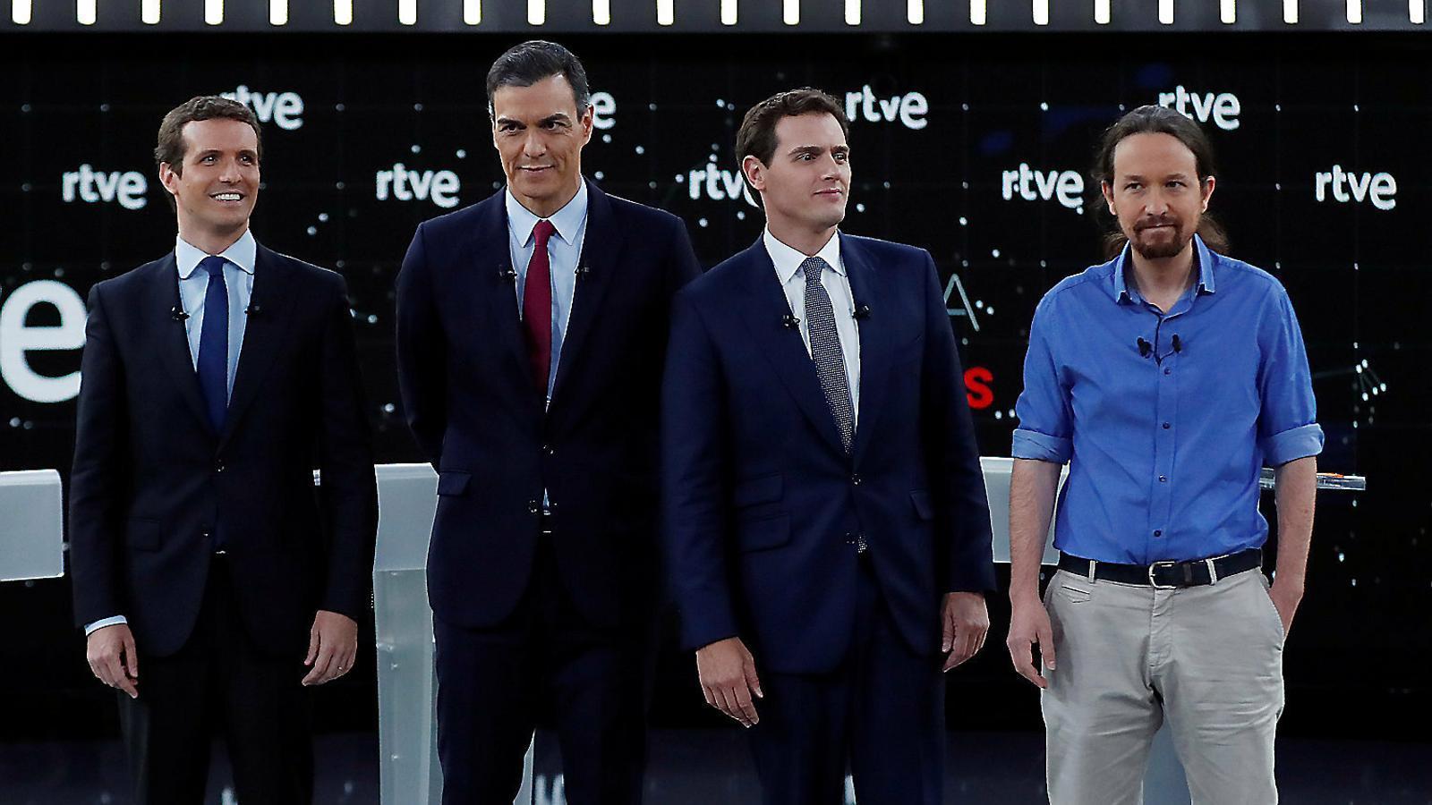 El debat electoral a RTVE en 10 frases