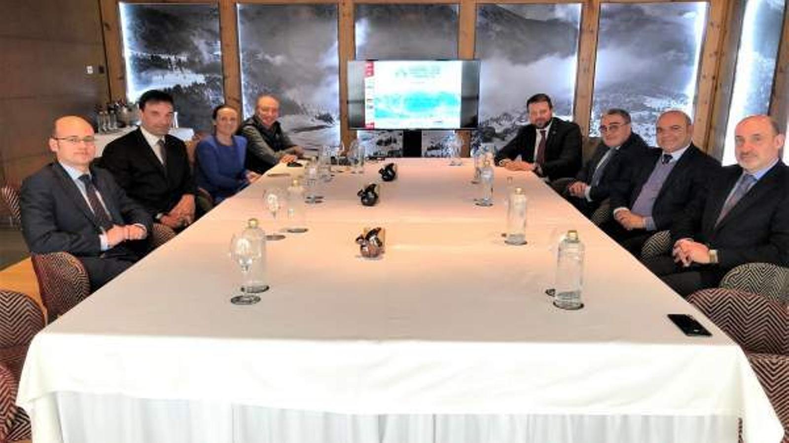 La reunió entre els governs d'Andorra i de Catalunya / SFG