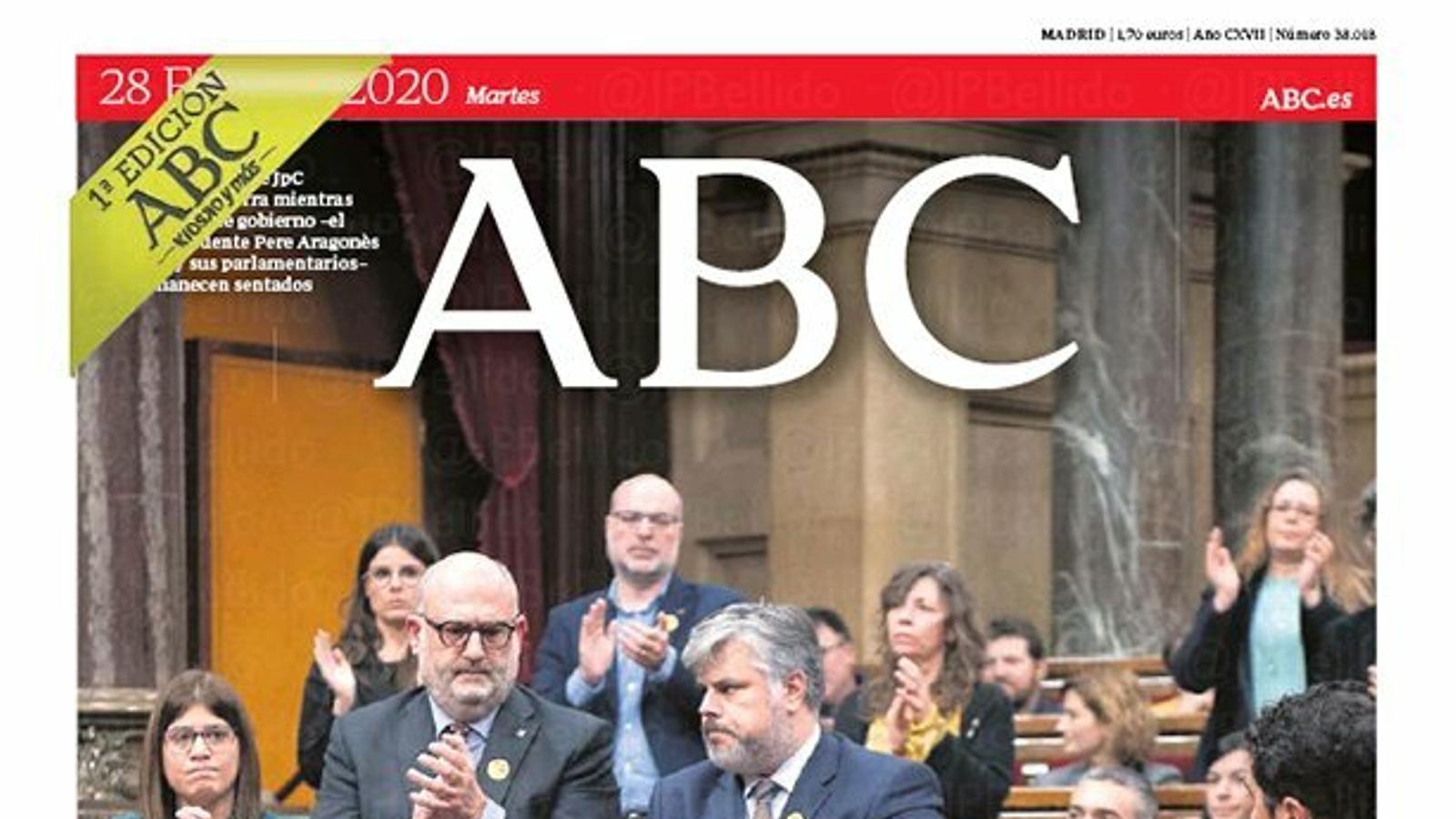portada abc 28/01/20