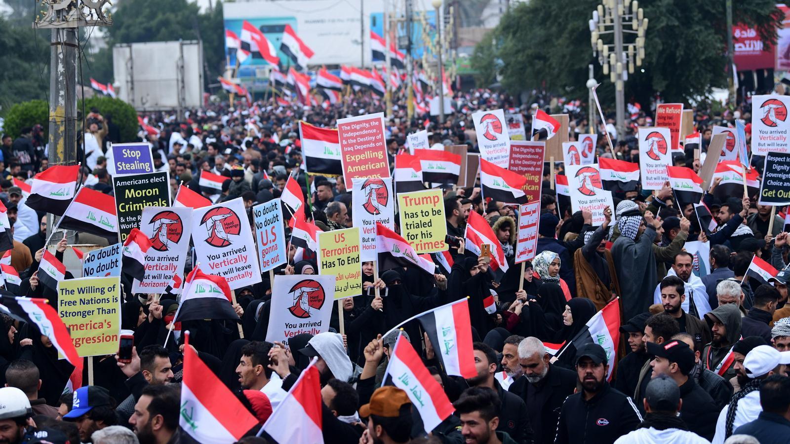 Protesta Bagdad