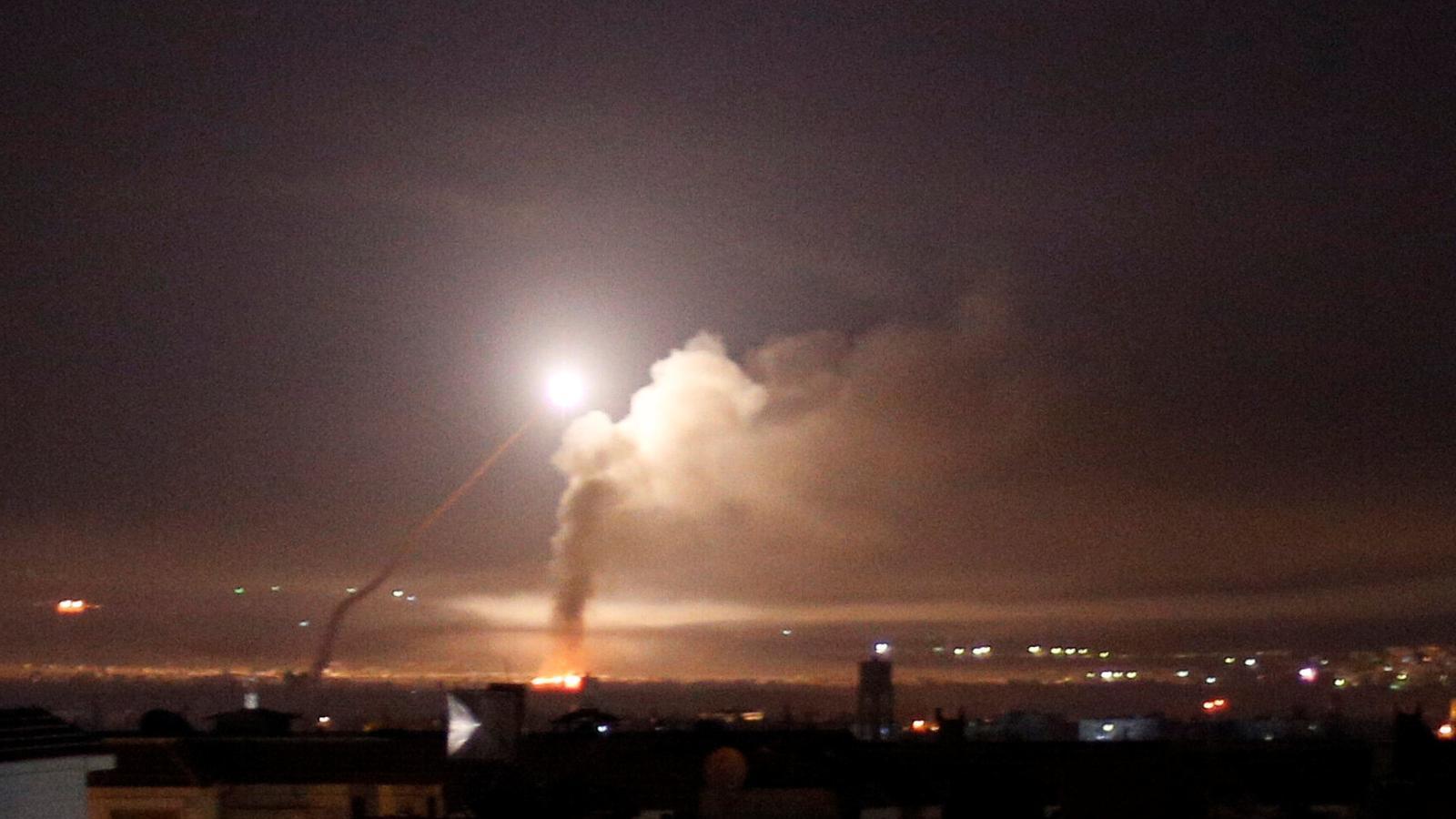 Israel i l'Iran s'enfronten a Síria