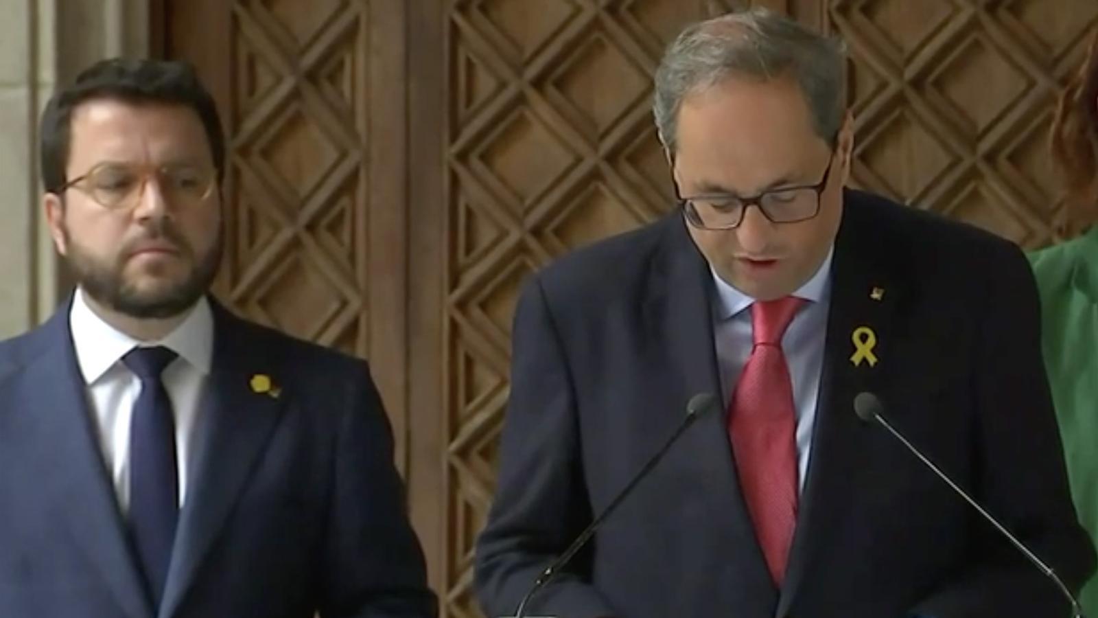 L'anàlisi d'Antoni Bassas: 'Excuses de Sánchez, aïllament de Torra, campanya d'Esquerra'