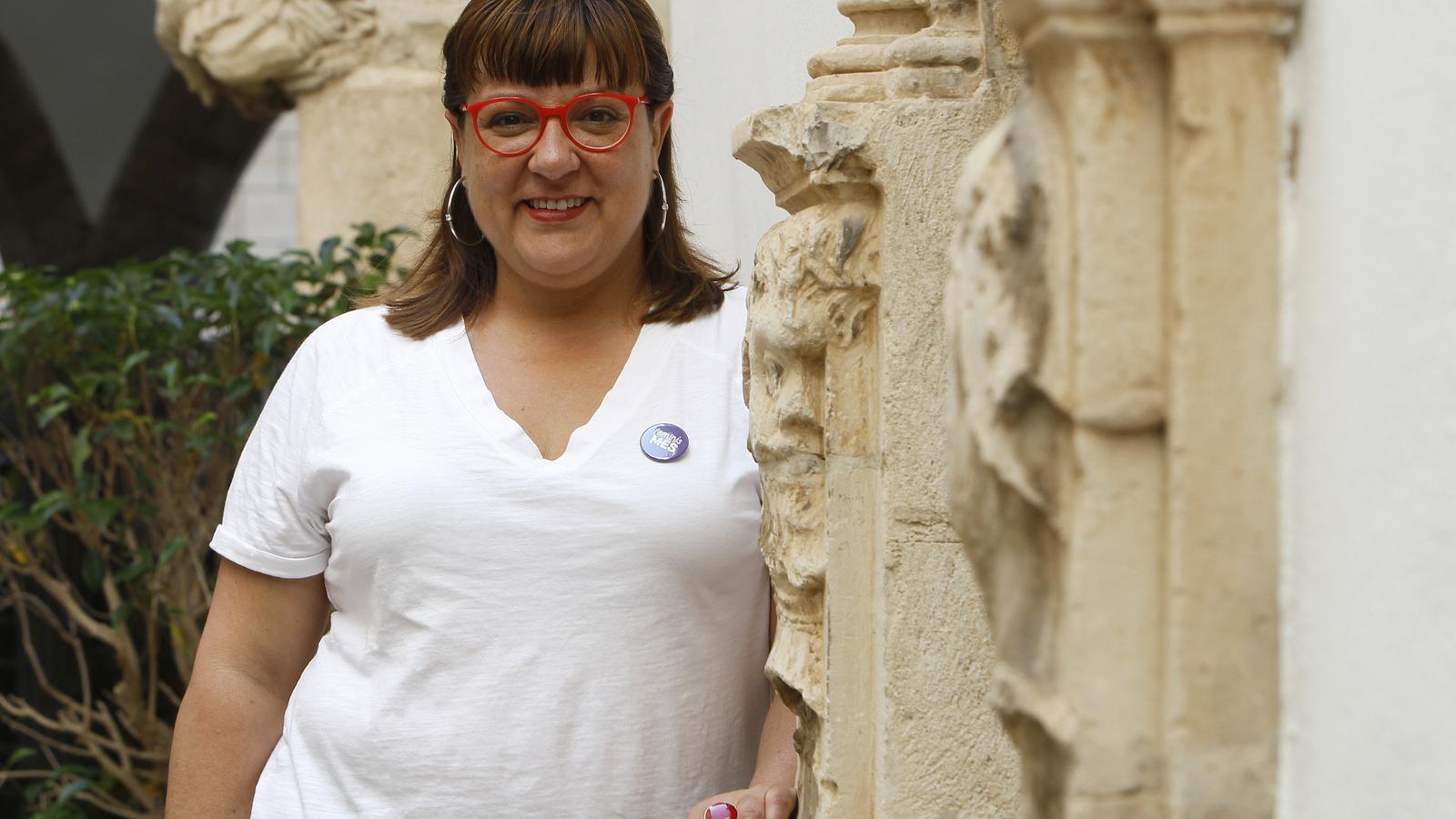 La candidata al Consell de Mallorca, Bel Busquets