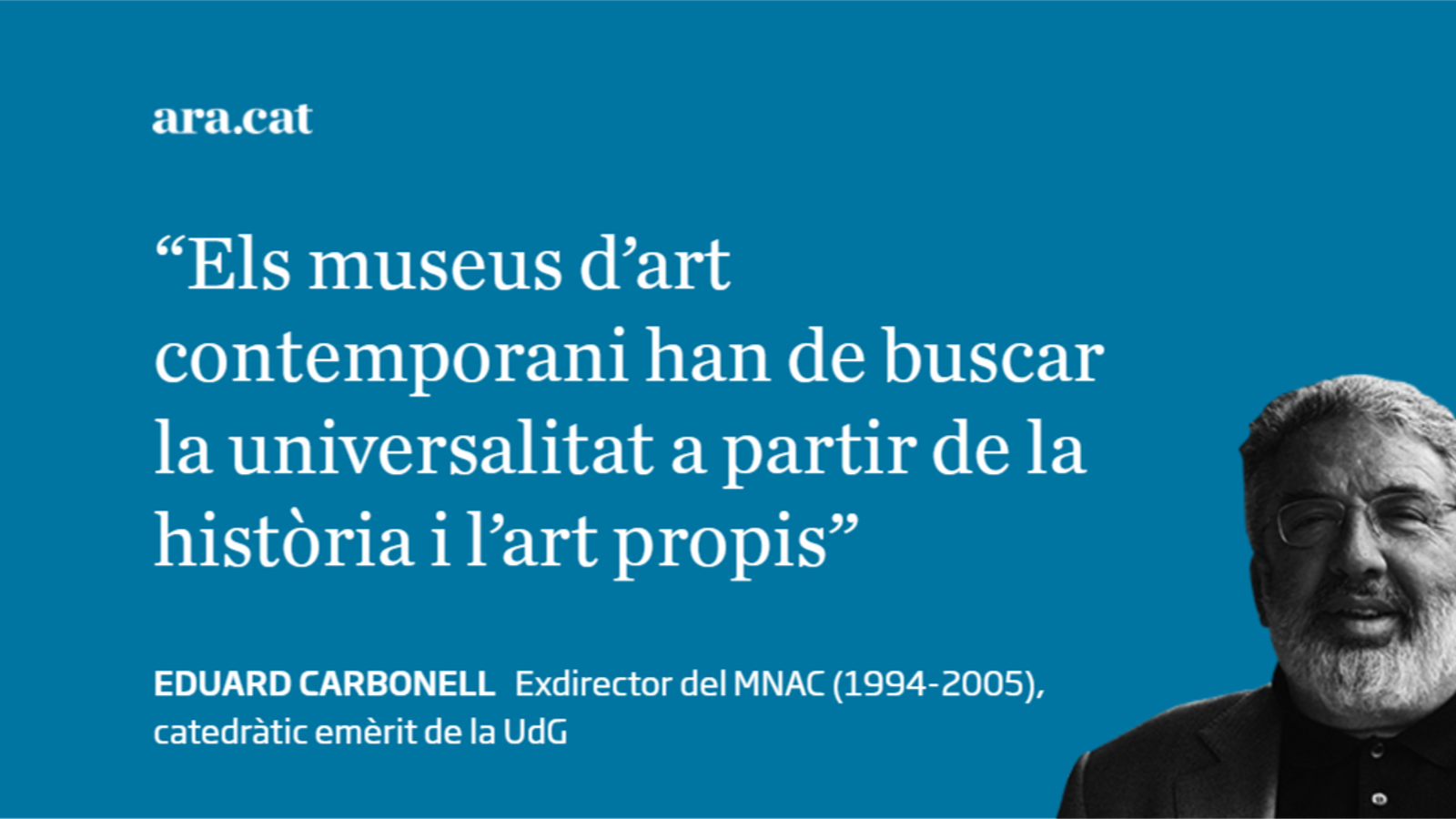 Josep Guinovart i l'art contemporani català