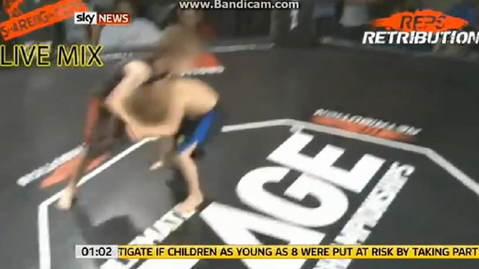 Els combats amb nens boxejadors s'estenen arreu del Regne Unit