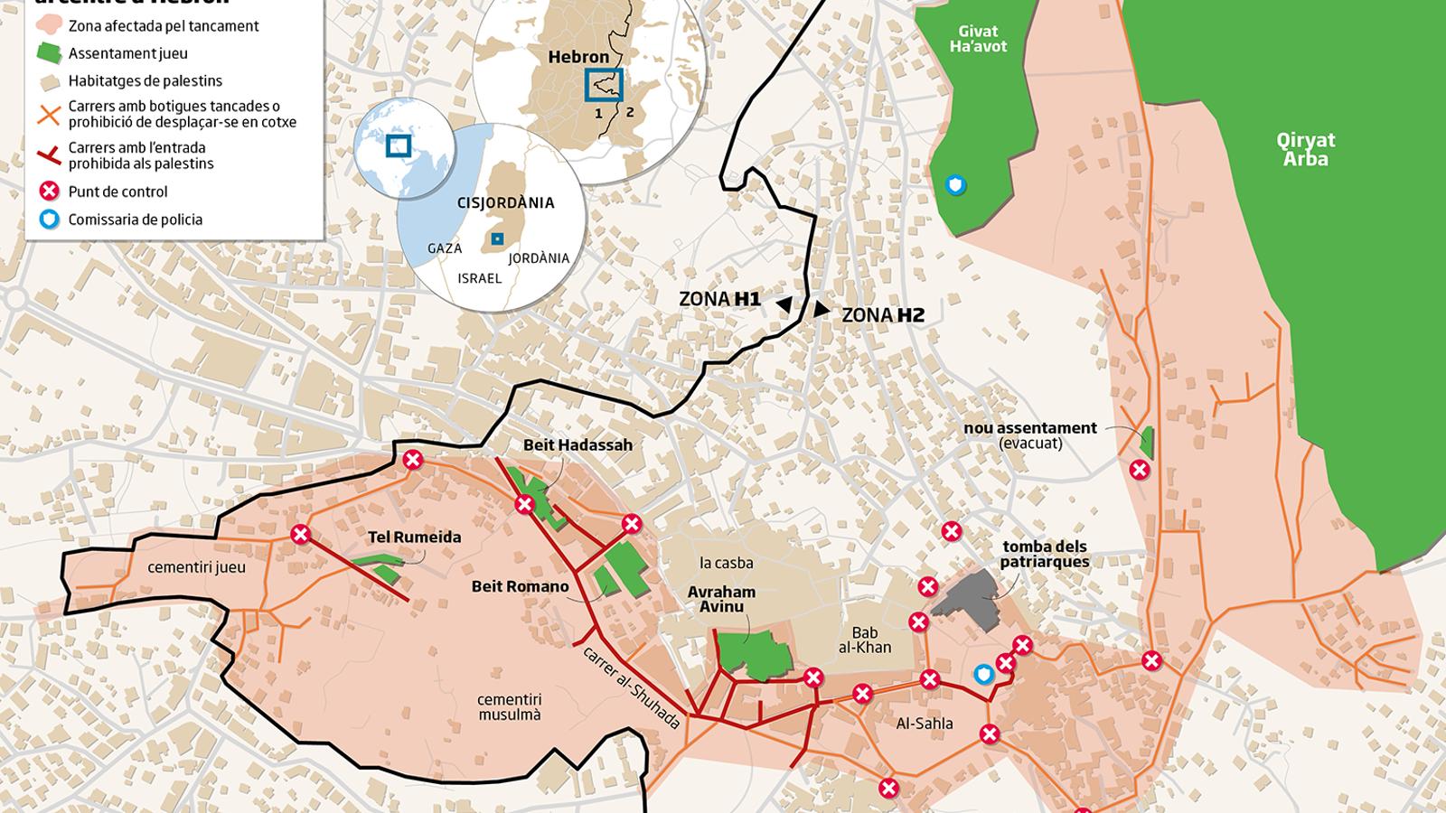 La ciutat fantasma d'Hebron
