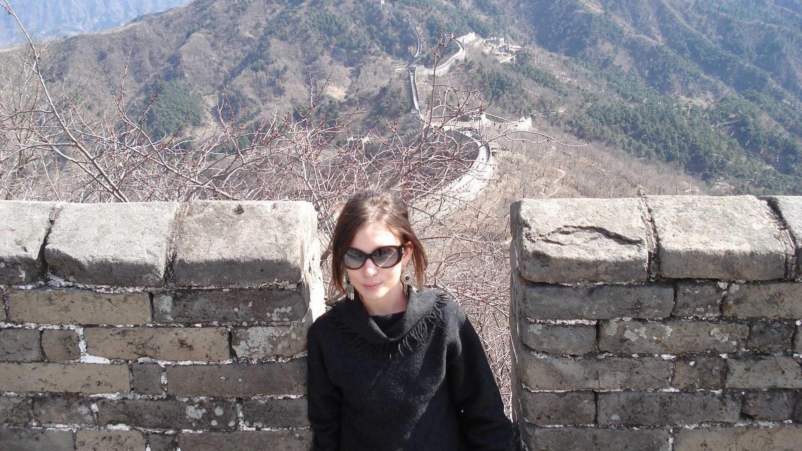 Fotografia sense data de la víctima,  Rebecca Dykes, facilitada als mitjans per la seva família