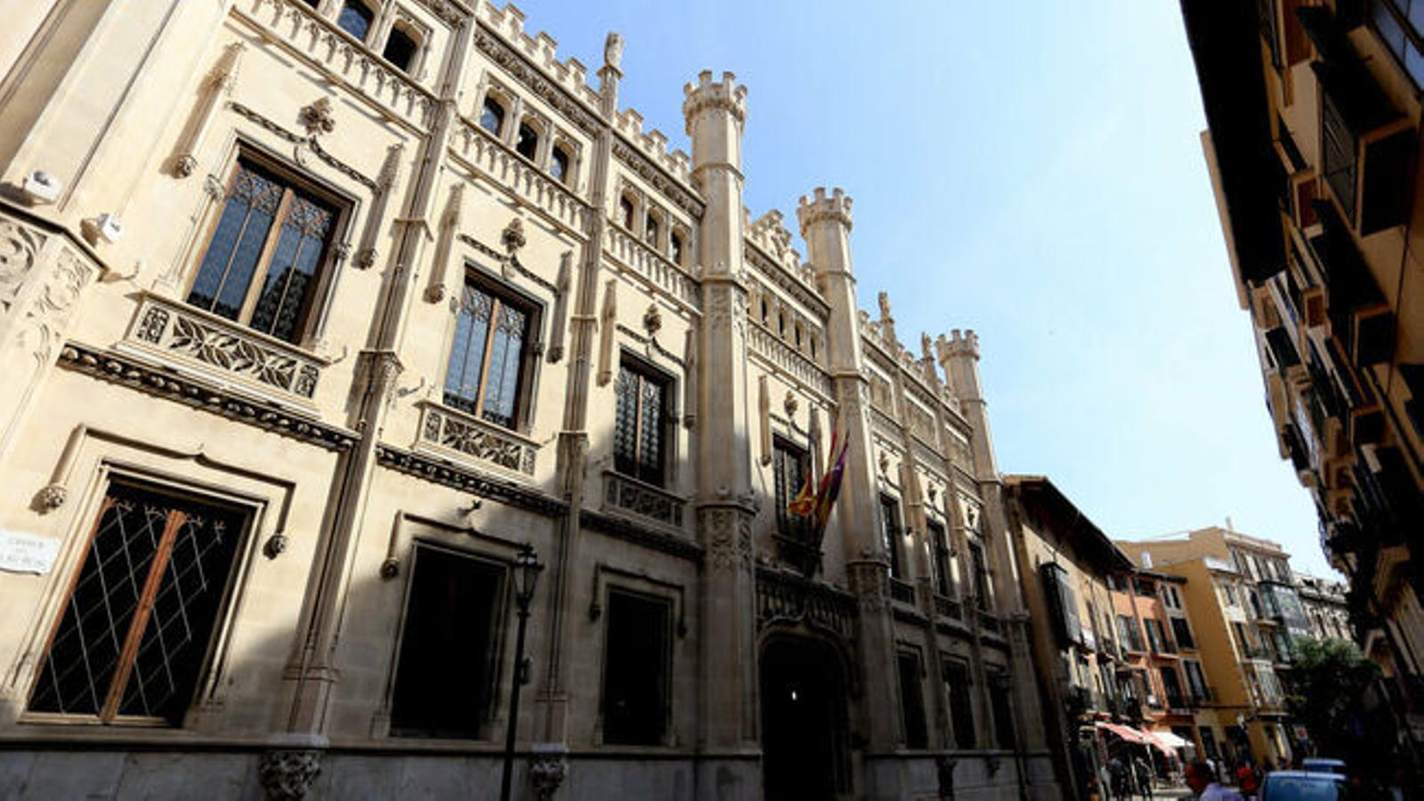 Façana Consell de Mallorca