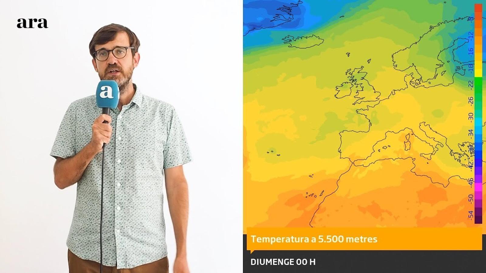 La méteo: calor d'estiu i possible tongada de xàfecs al voltant de dissabte