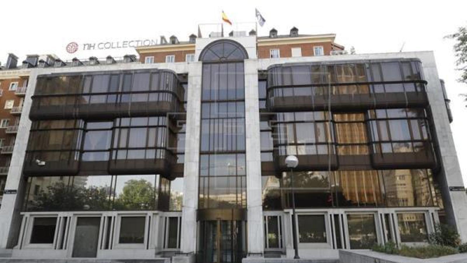 Antiga seu de Banco Madrid, situat al passeig de la Castellana. / EFE