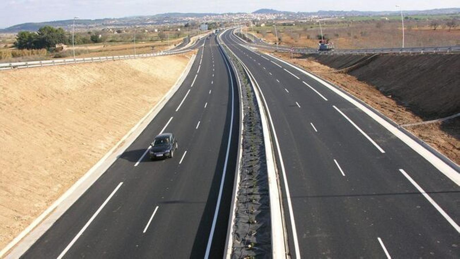 Una carretera de Mallorca