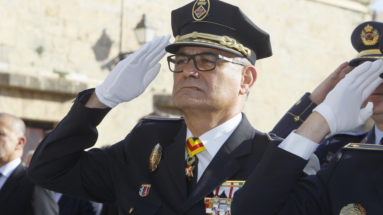 Josep Palouzié, avui a la seva presa de possessió.