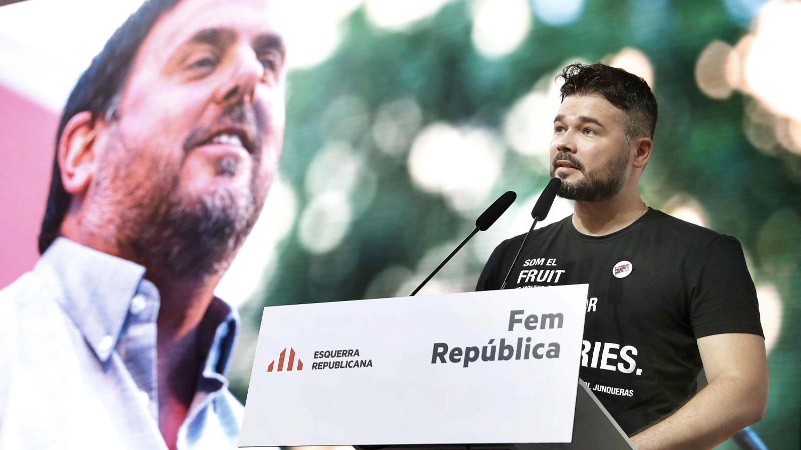 ERC no descarta una nova DUI si l'Estat rebutja el referèndum