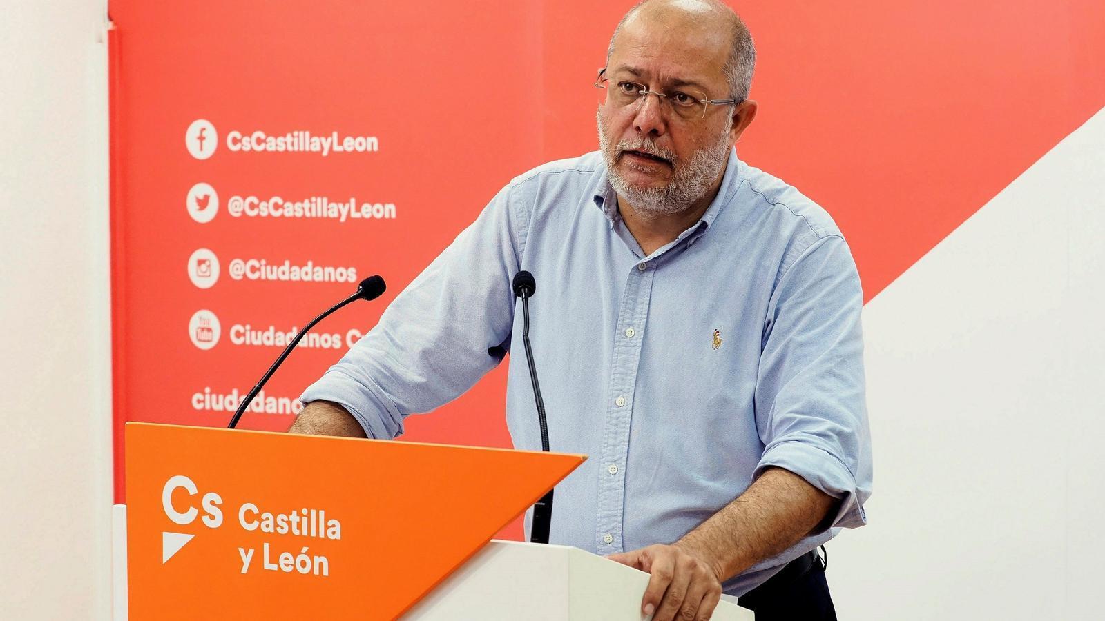 Igea, aquest dimarts durant la roda de premsa a Valladolid.