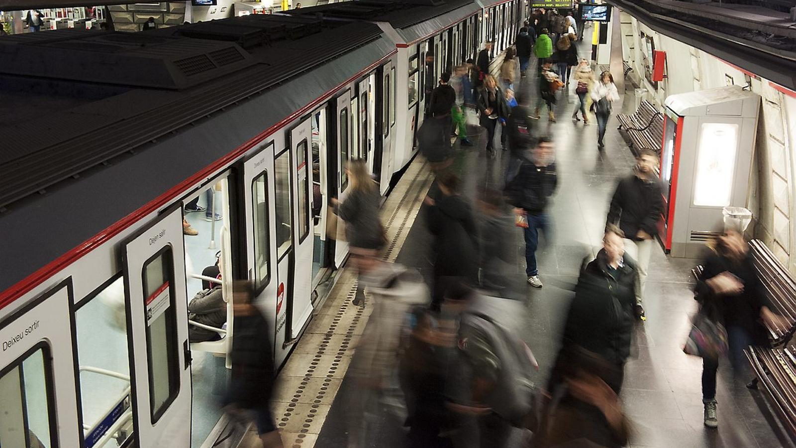 Les obres d'estiu a Barcelona tindran especial afectació al metro