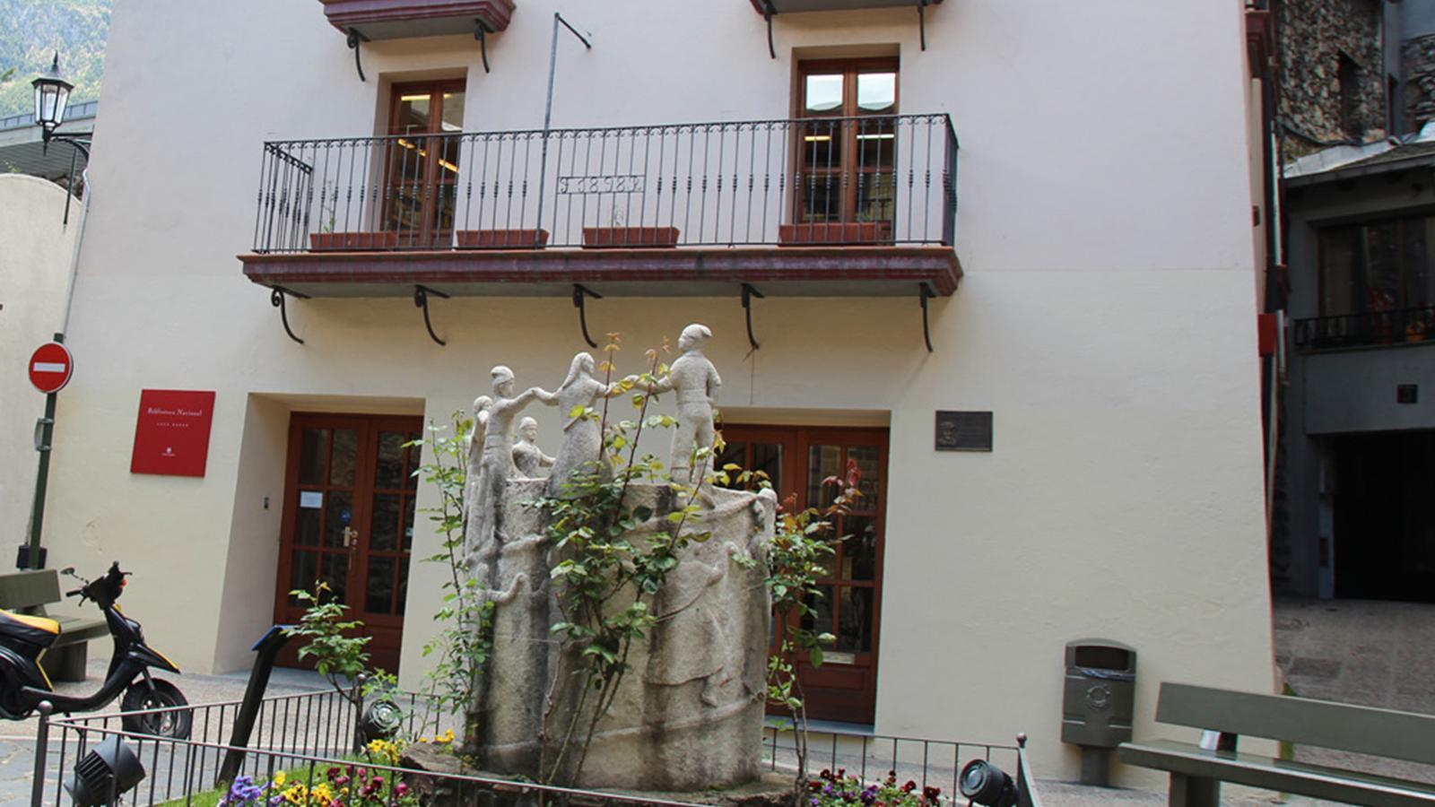 La Biblioteca Nacional d'Andorra. / ARXIU ANA