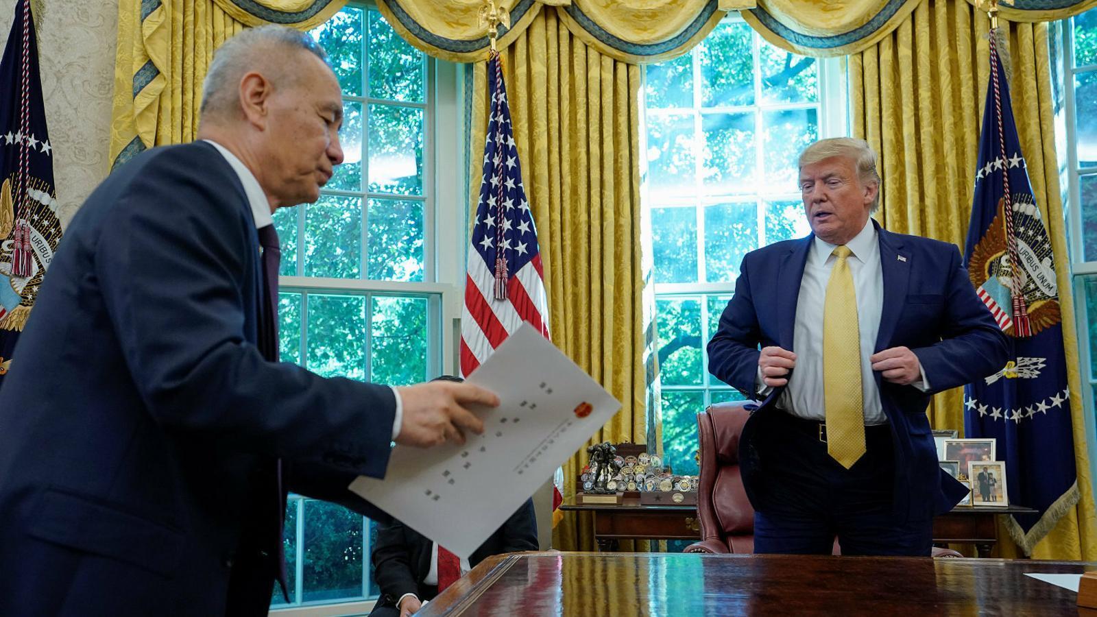 Trump atura els aranzels i obre  la porta a la pau amb la Xina