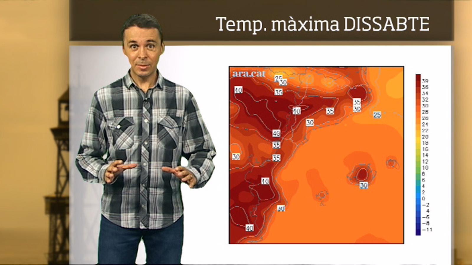 Méteo especial: Pic de calor durant el cap de setmana