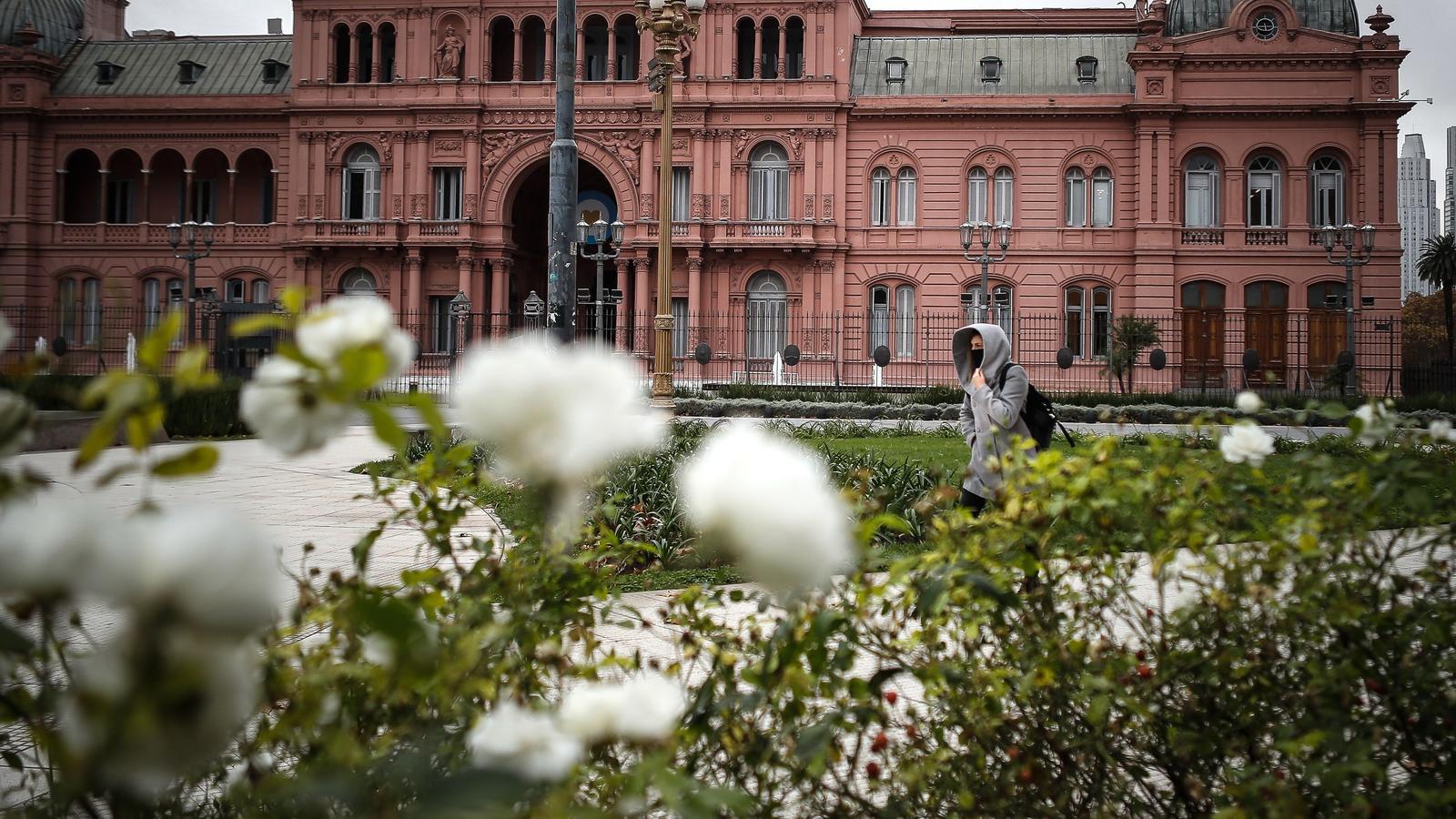 La Casa Rosada, seu del govern argentí, divendres passat.
