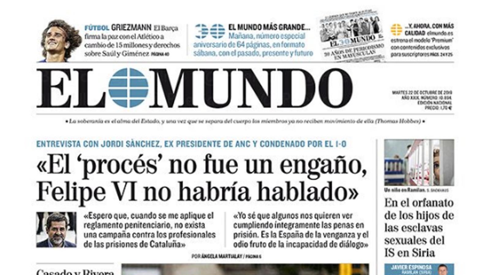 El que s'hi juga 'El Mundo' amb el mur de pagament