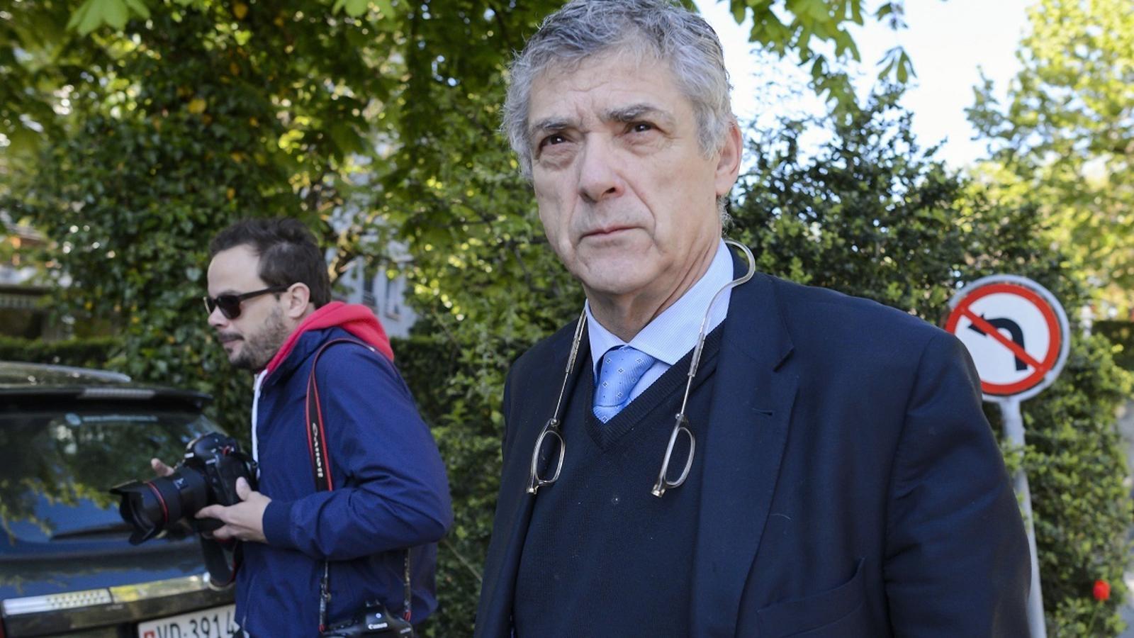 Ángel María Villar, president de la Federació Espanyola de Futbol