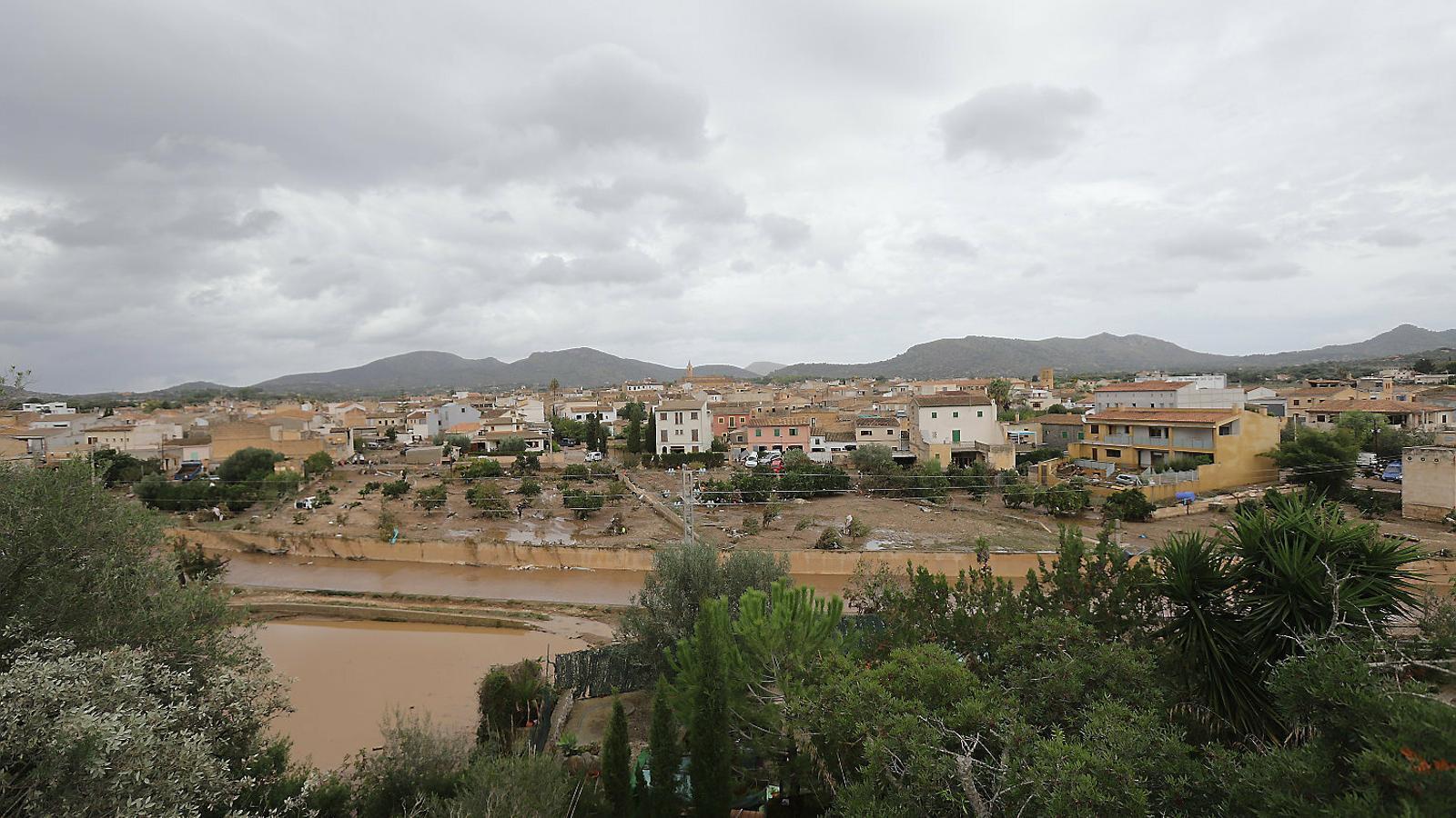 El cabal del torrent de Sant Llorenç quasi arribà a ser com el del riu Ebre en només 15 minuts