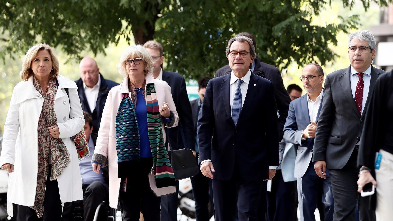 El Tribunal de Comptes multa Mas amb 4,9 milions d'euros pel 9-N