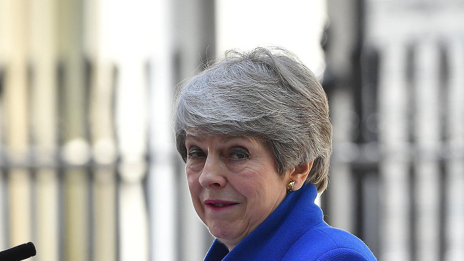 Theresa May, primera ministra britànica entre el 2016 i el 2019.