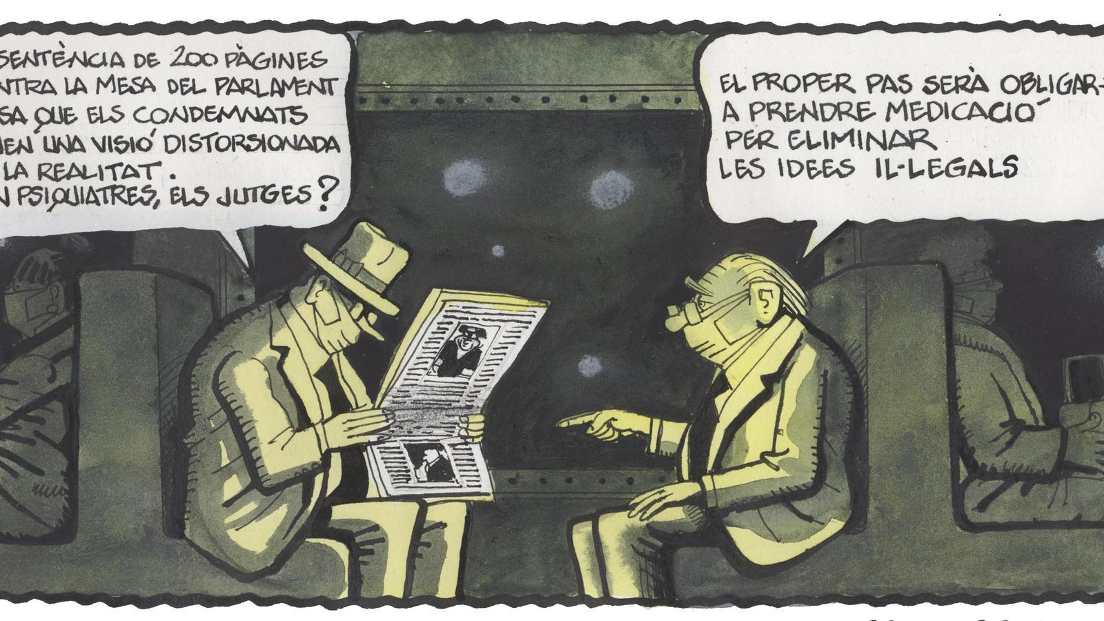 'A la contra', per Ferreres 23/10/2020