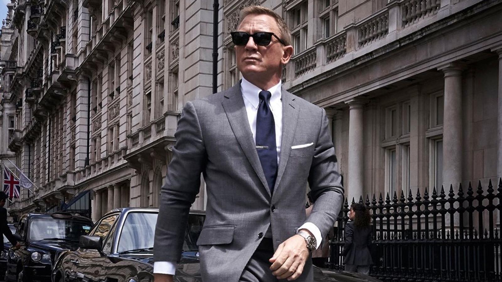 Daniel Craig a 'Sin tiempo para morir'