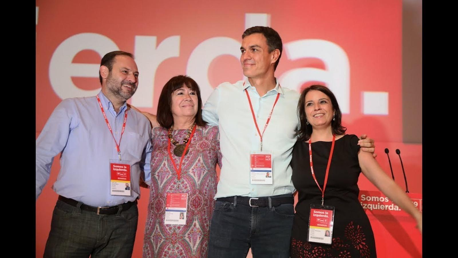 Cloenda del 39è congrés del PSOE
