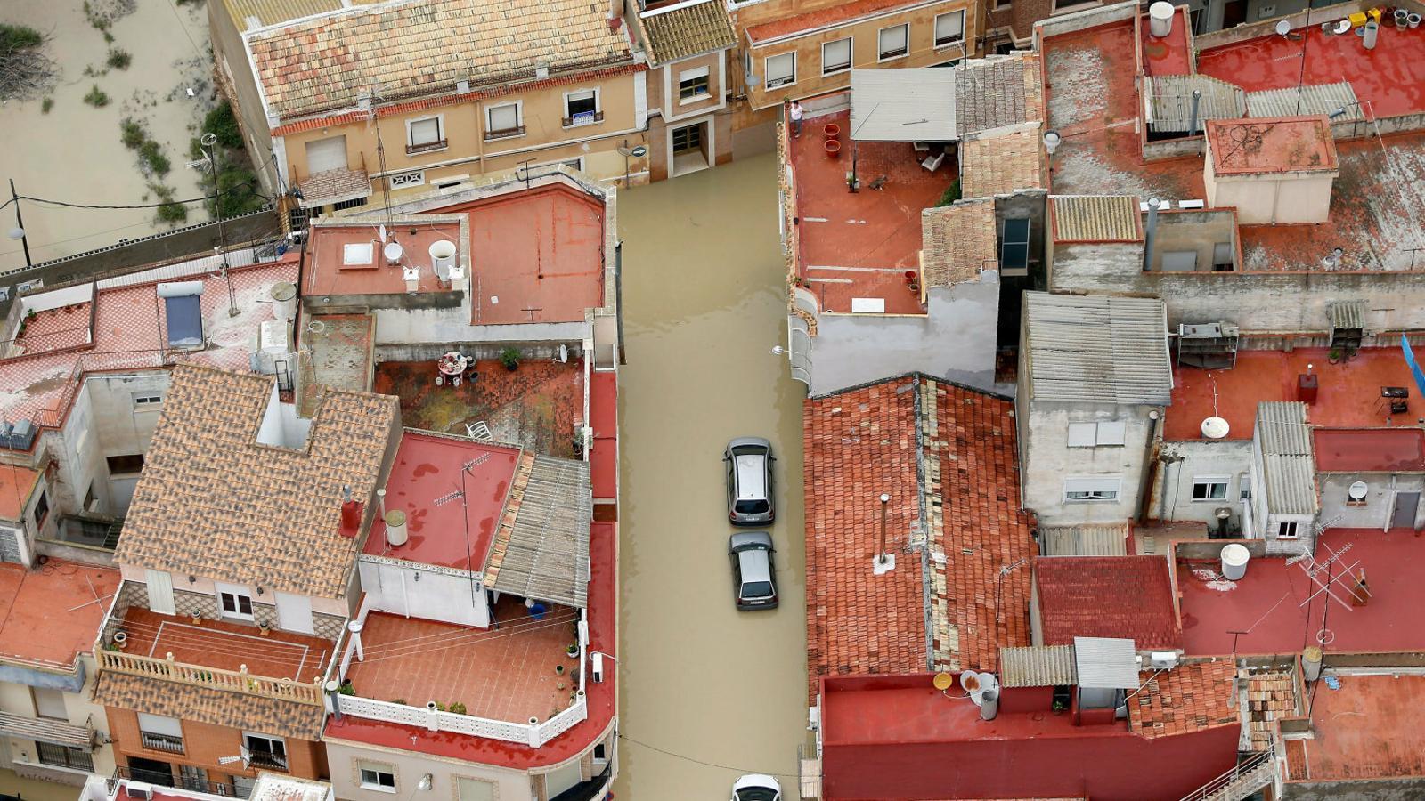"""Les pluges al Baix Segura, les """"més catastròfiques en 140 anys"""""""