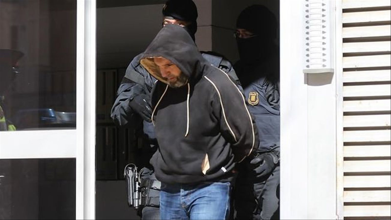 Un dels detinguts pels Mossos d'Esquadra en l'operació Caront culminada l'abril del 2015. Ahir havia de començar el judici.