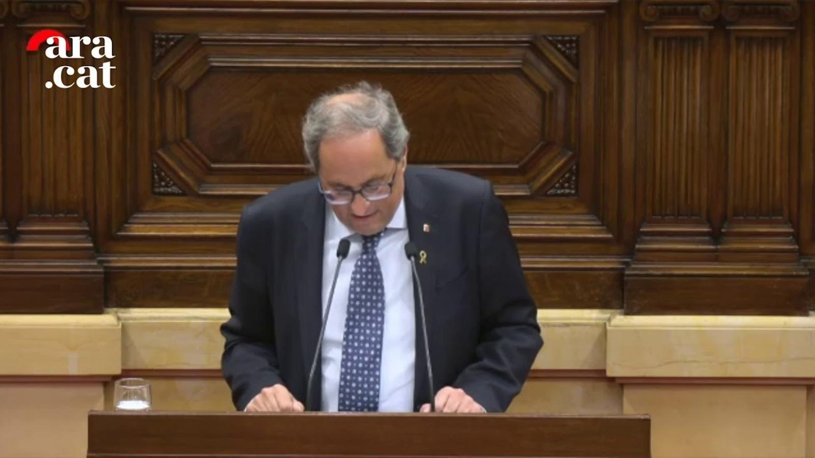 """Torra a Roldán: """"L'associació d'independentisme i ETA és d'una irresponsabilitat colossal"""""""