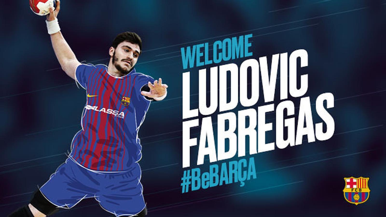 Ludovic Fàbregas reforça el Barça Lassa d'hanbdol