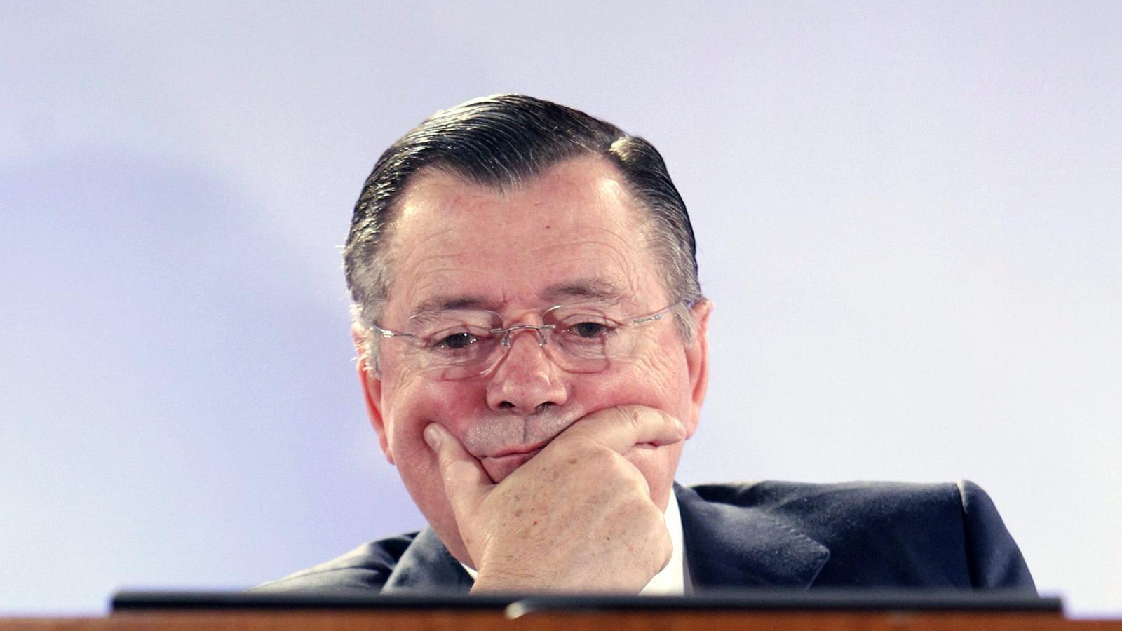 Conseller delegat del Banco Santander, Alfredo Sáenz