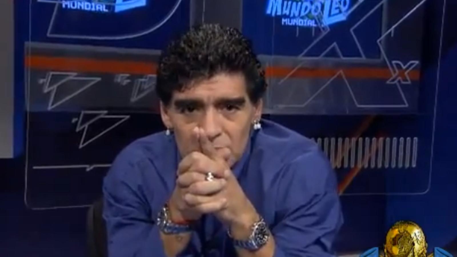 Maradona, a Messi: Faràs dos gols a la final del Mundial