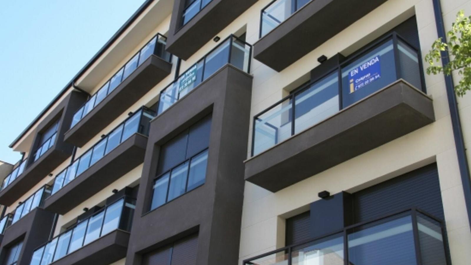 El preu de l'habitatge torna a pujar un 3,3% el primer trimestre del 2019